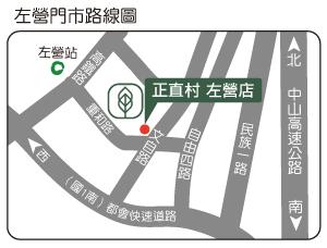 中興新村門市地圖